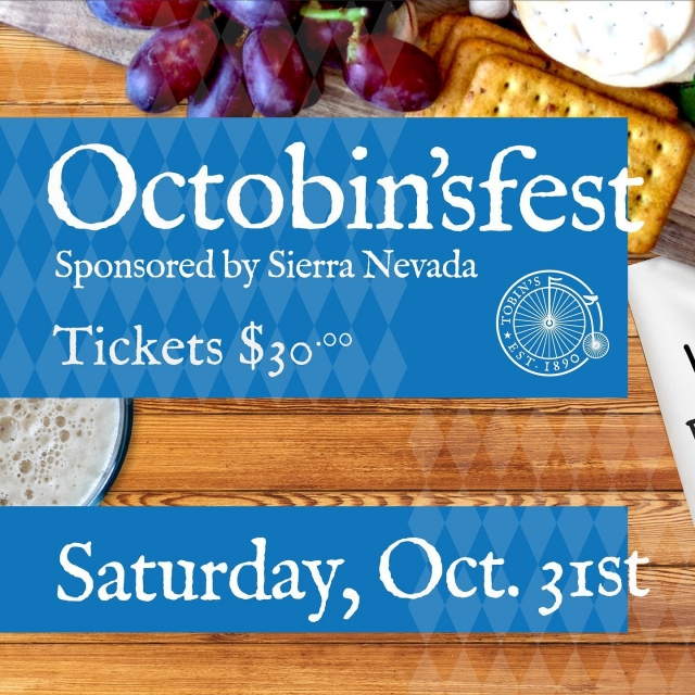 Halloween is coming to the Jackson Street Cottages!  . . Put on your best costume and come join us at @tobins_market for our official Halloween Party - Octobin'sfest, Sponsored by @sierranevada!From 5-11pm, we will be serving up cold drinks, offering several delicious food specials, rocking out to some awesome live music, and hosting fun competitions 🎃! . . We will be hosting a Pet Costume Contest from 1-4pm (Free Admission). The winner will be announced at 3PM! We are so excited to see all of the creative costumes on all of our little furry friends 🐶! . . For more details, visit the link in our bio!! . . Don't miss this super awesome #Octobin'sfest Halloween celebration downtown at Tobin's Market, 197 Jackson Street, Charleston, SC 29403.   (Masks required for entry)
